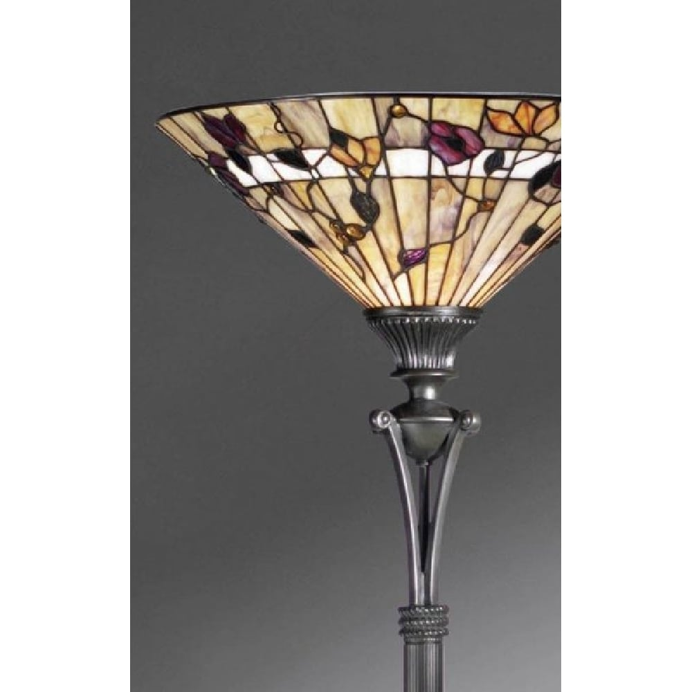 Tiffany Uplighter Floor Standing Lamp