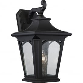 BEDFORD traditional black outdoor wall lantern for extreme weather conditions - large