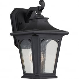 BEDFORD traditional black outdoor wall lantern for extreme weather conditions - small