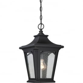BEDFORD traditional black porch lantern for coastal locations