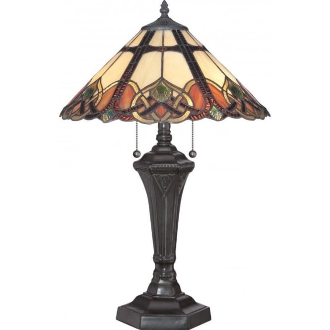 Broadway American Collection CAMBRIDGE Tiffany table lamp in Art Nouvea Style
