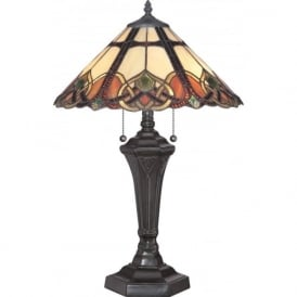 CAMBRIDGE Tiffany table lamp in Art Nouvea Style
