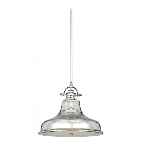 Broadway American Collection EMERY retro style silver ceiling pendant ...