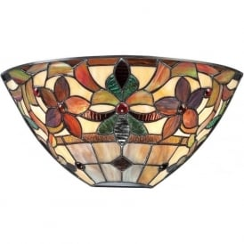 KAMI Art Nouveau Tiffany glass wall washer wall light