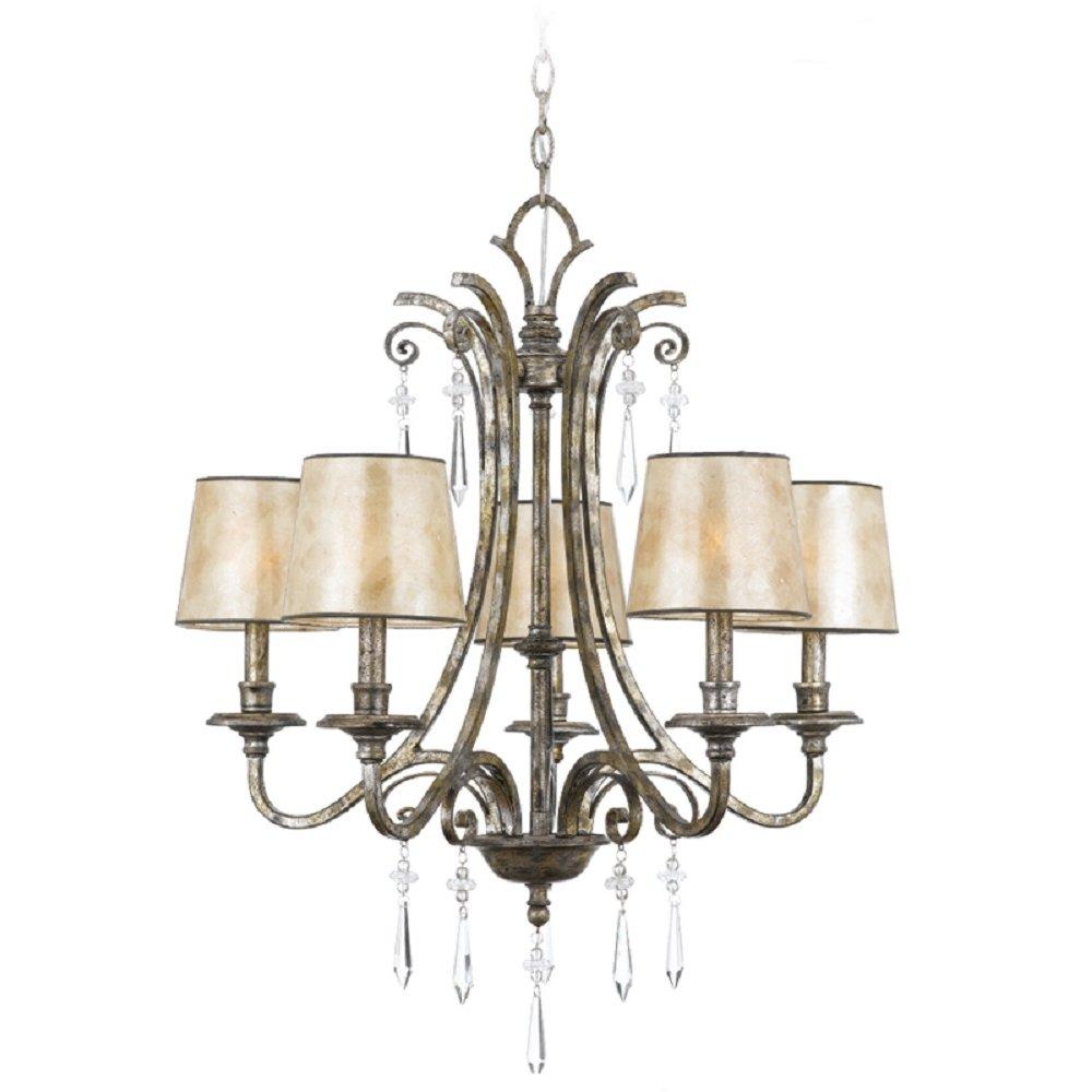 Modern Chandelier For High Ceiling: 5 Light Chandelier Style Light Fitting Ideal For Lighitng