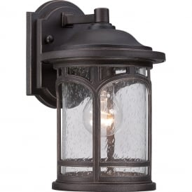 MARBLEHEAD traditional outdoor wall lantern for coastal areas - small