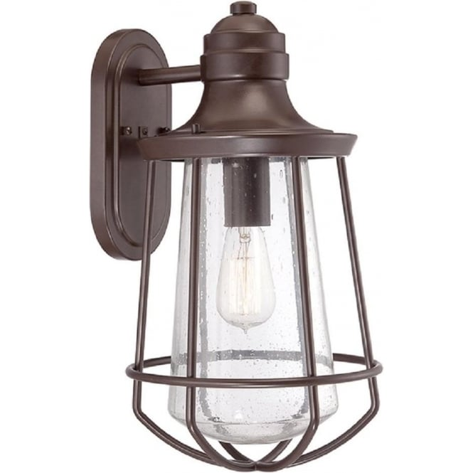 Broadway American Collection MARINE IP44 exterior bronze wall lantern - large