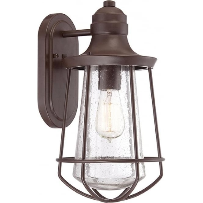 Broadway American Collection MARINE IP44 exterior bronze wall lantern - mediium