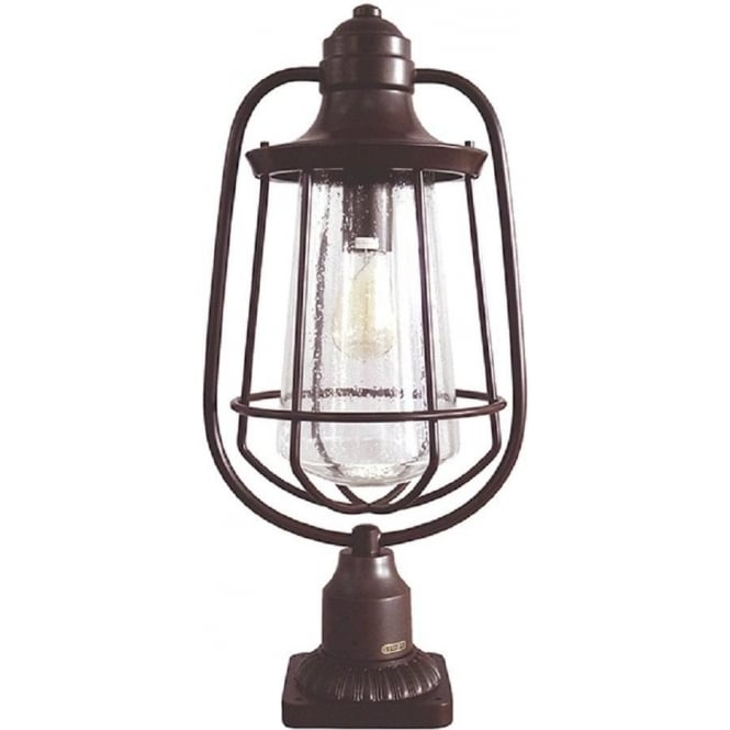 Broadway American Collection MARINE traditional exterior bronze pedestal or post light