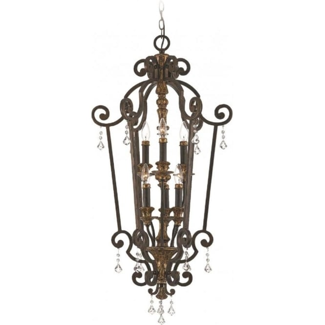 Broadway American Collection MARQUETTE French chandelier style ceiling pendant or lantern