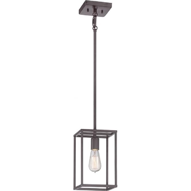 Broadway American Collection NEW HARBOUR rectangular hanging ceiling pendant light for sloping ceilings