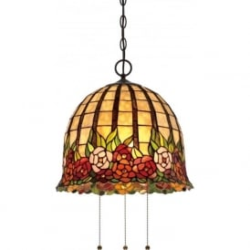 tiffany lighting and table lamps handcrafted in stained glass