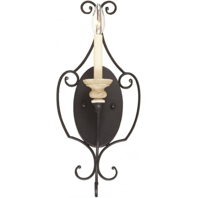 Broadway American Collection SHELBY French inspired wall sconce