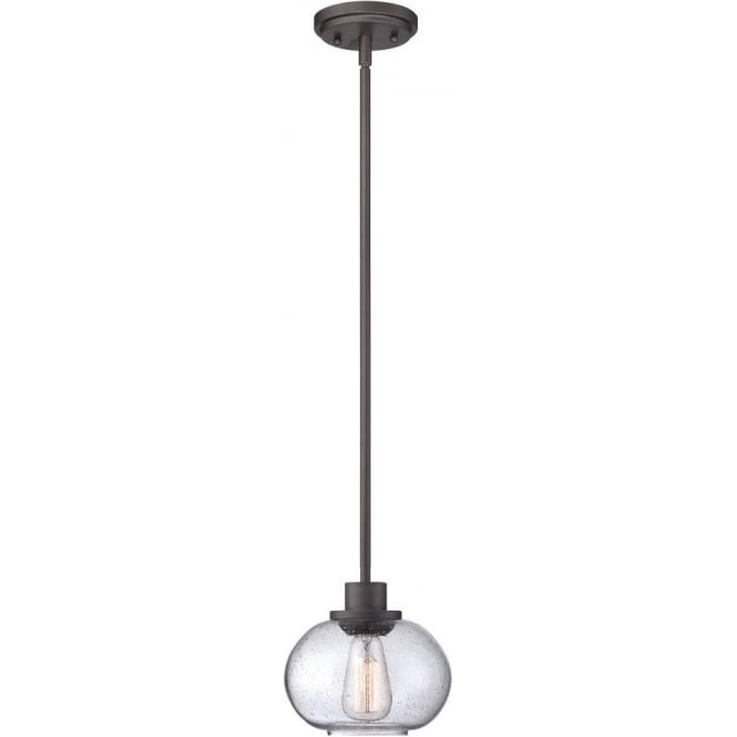 Broadway American Collection TRILOGY vintage style small bronze ceiling pendant light