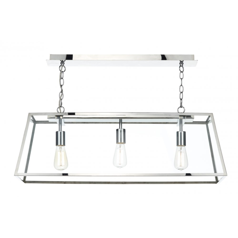 Industrial suspended ceiling pendant light fitting in stainless steel for Stainless steel bathroom lights
