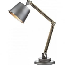 ARKEN adjustable and angled desk lamp in vintage retro design