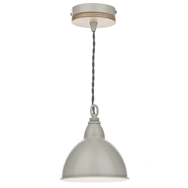 Retro style hanging ceiling pendant light with cream for Ceiling lamp wood