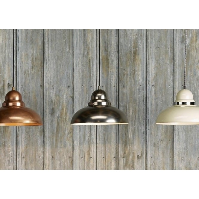 Double insulated antique copper ceiling pendant for lighting over tables dynamo retro style antique copper ceiling pendant light aloadofball Image collections
