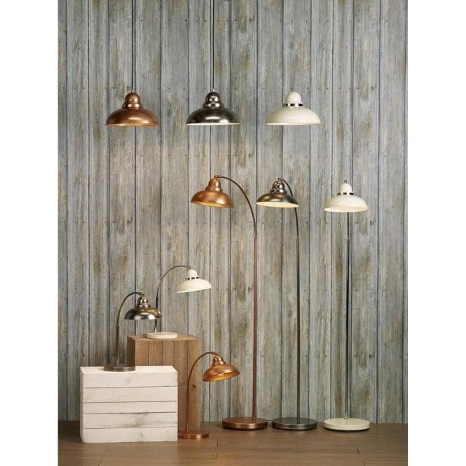 DYNAMO Retro Style Table Lamp Or Desk Light In Antique Copper