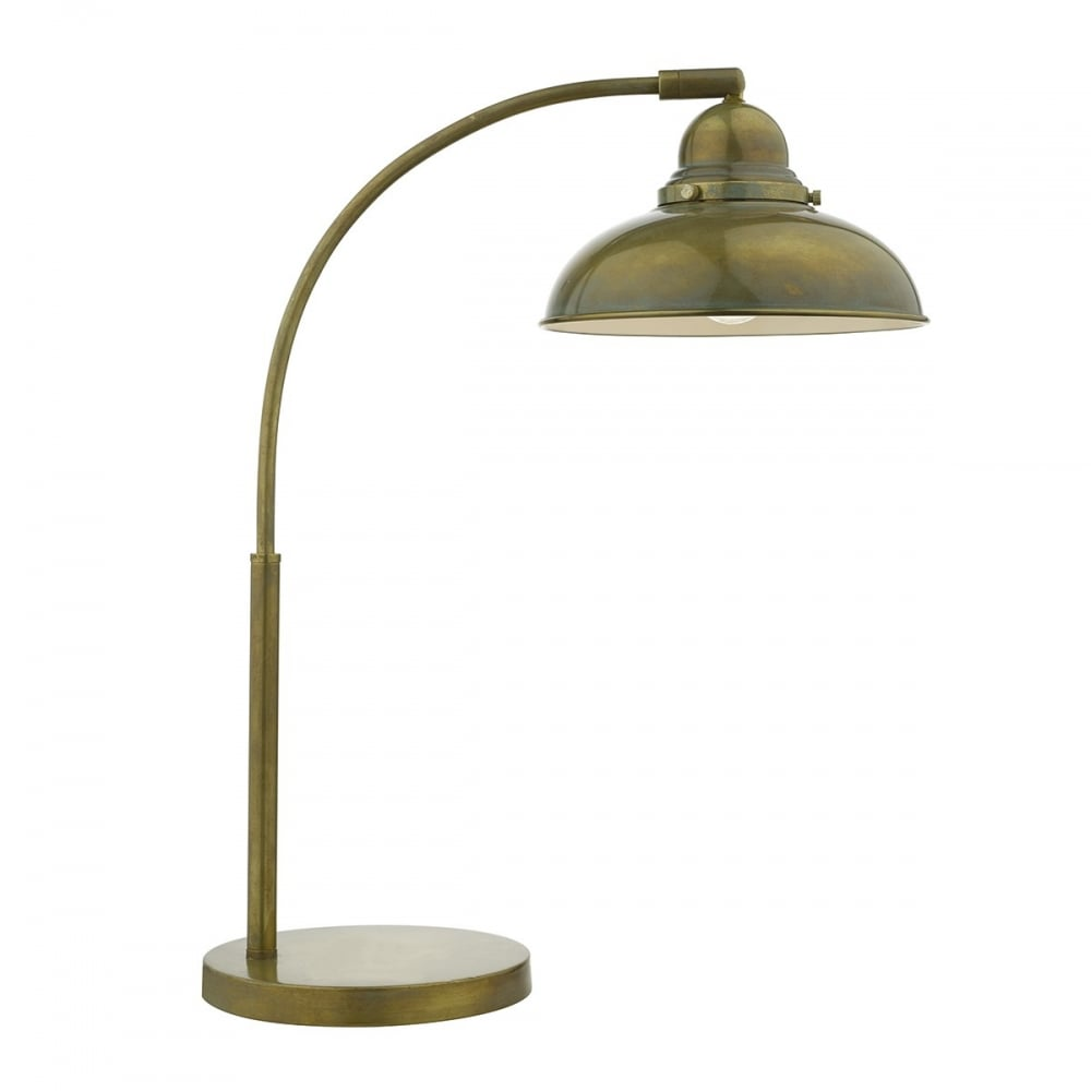 Weathered Bronze Vintage Retro Style Desk Lamp with ...