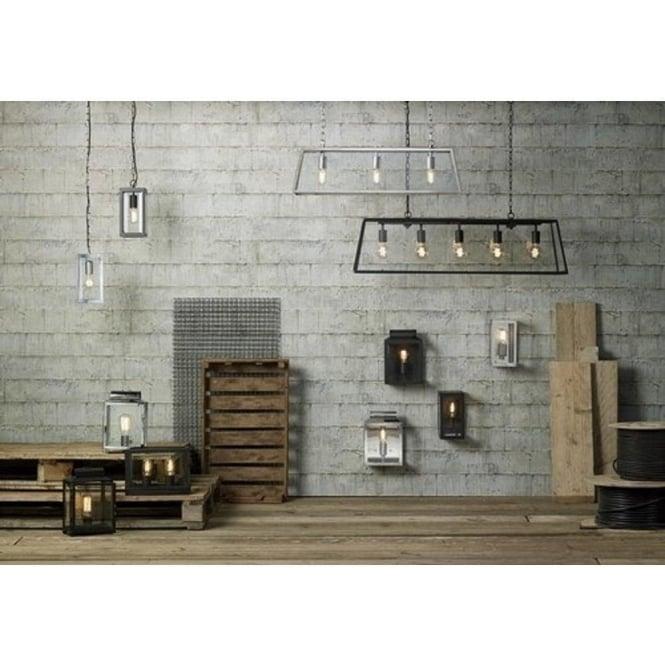 ERA Indoor Or Outdoor Black Wall Lantern