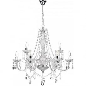 KATIE 9 light decorative double insulated chandelier