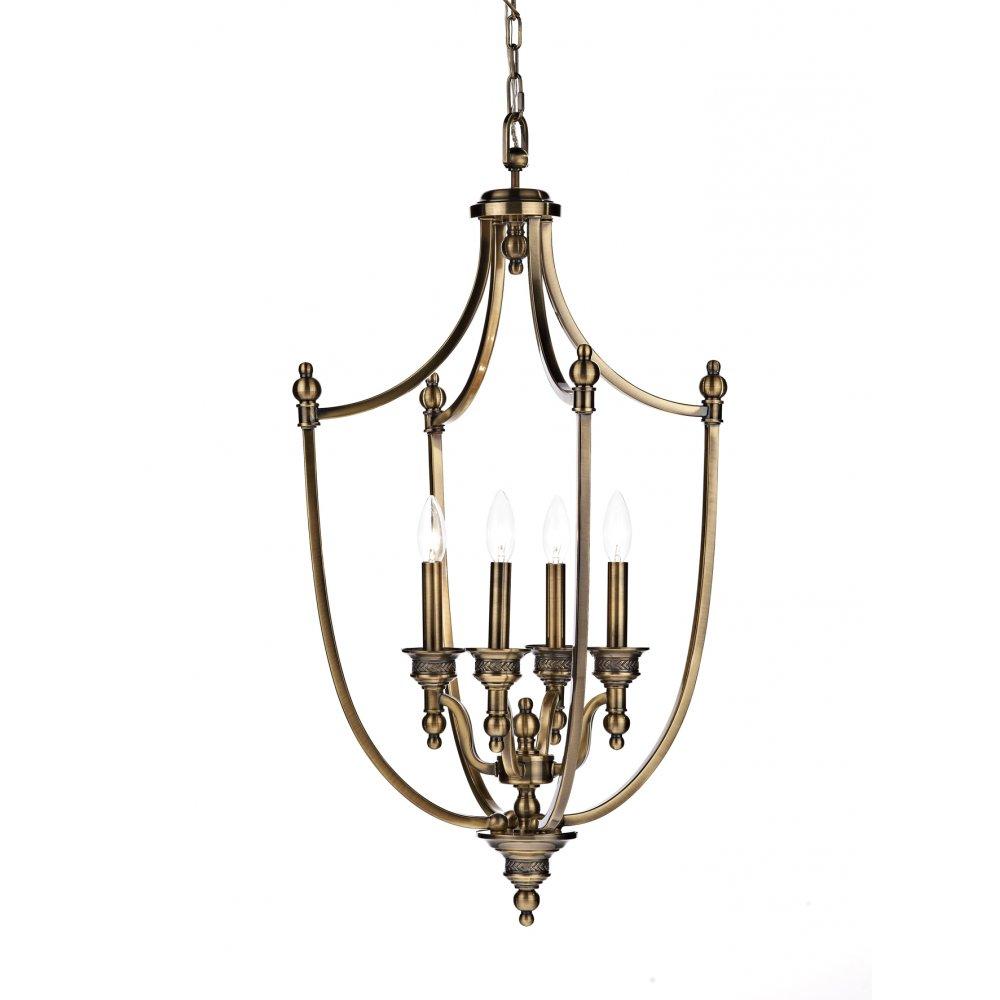 Cambridge Lighting LOMBARD Traditional Hanging Lantern