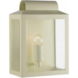 NOTARY indoor or outdoor cream wall lantern