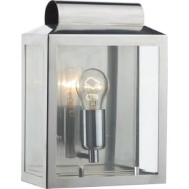 NOTARY stainless steel indoor or outdoor wall lantern