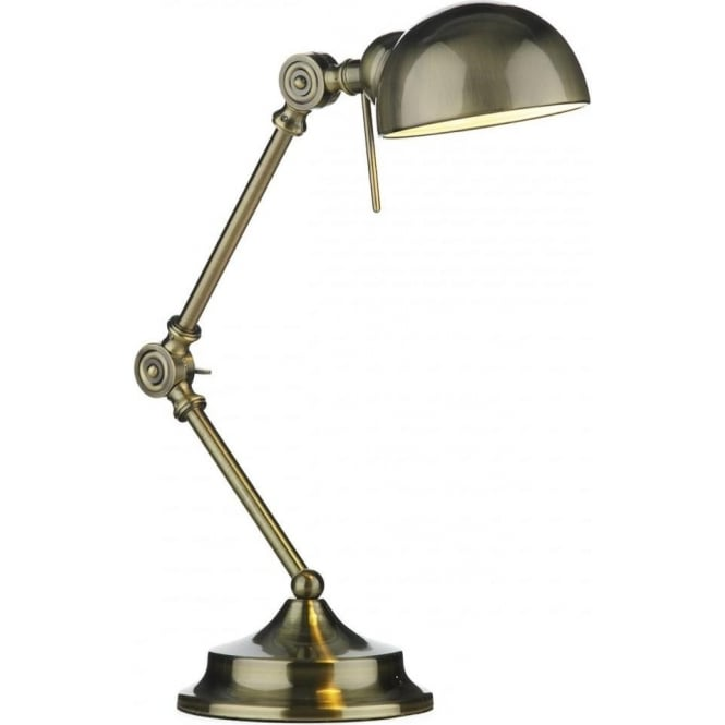 Outstanding Ranger Antique Brass Adjustable Desk Or Reading Lamp Download Free Architecture Designs Viewormadebymaigaardcom