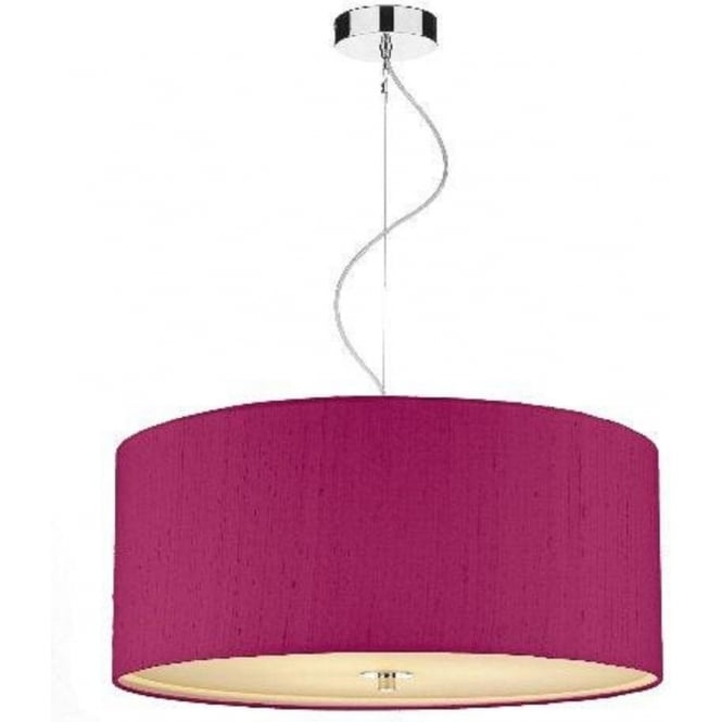 renoir pink ceiling pendant light shade drop for