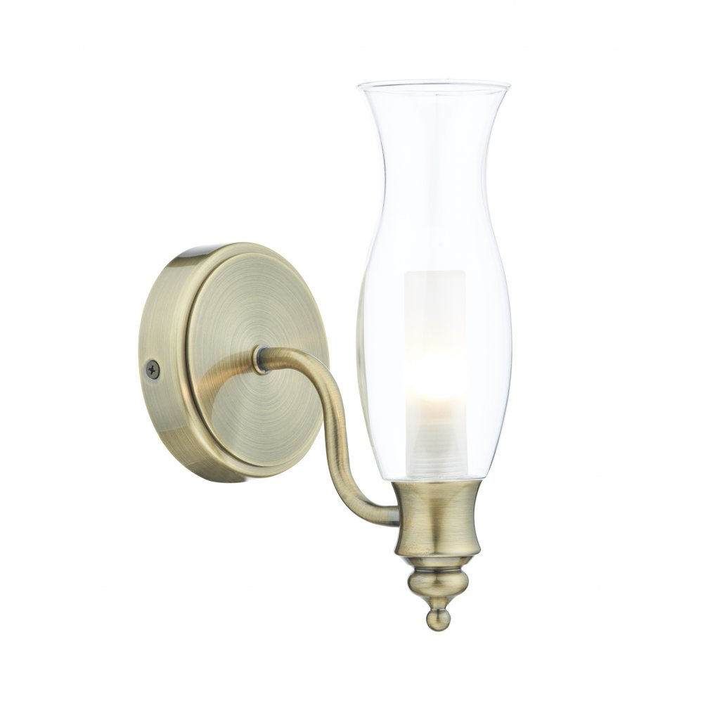 Traditional Bathroom Wall Lamps : IP44 Traditional Bathroom Wall Light Like Antique Victorian OIl Lamp