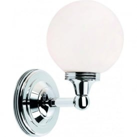 AUSTEN IP44 traditional chrome bathroom wall light