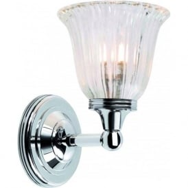 AUSTEN traditional IP44 chrome bathroom wall light