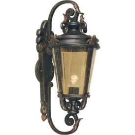 BALTIMORE traditional decorative outside wall lantern (large)