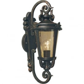 BALTIMORE traditional decorative outside wall lantern (medium)