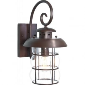 BIBURY traditional garden wall lantern light