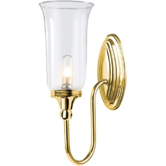 Chester Collection BLAKE traditional gold bathroom wall light
