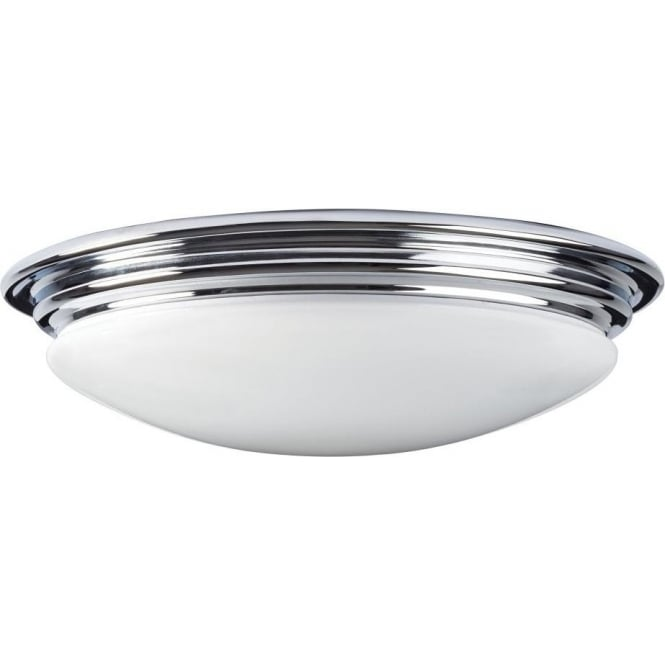 pretty nice 85113 feee0 BROMPTON LED flush mounted bathroom ceiling light, IP44