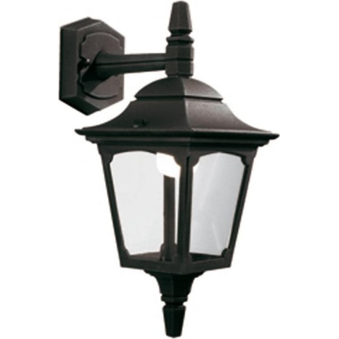 Chester Collection CHAPEL small down facing traditional garden wall lantern