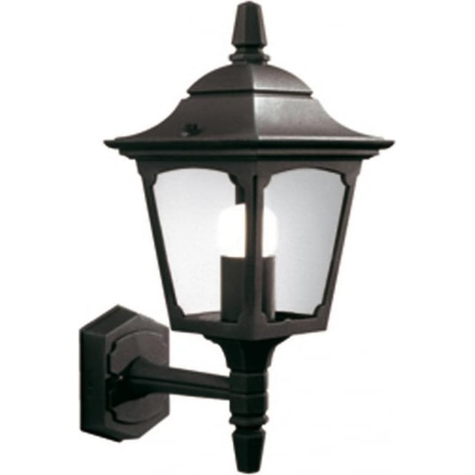 CHAPEL small garden wall light in black aluminium f86167daeaf5