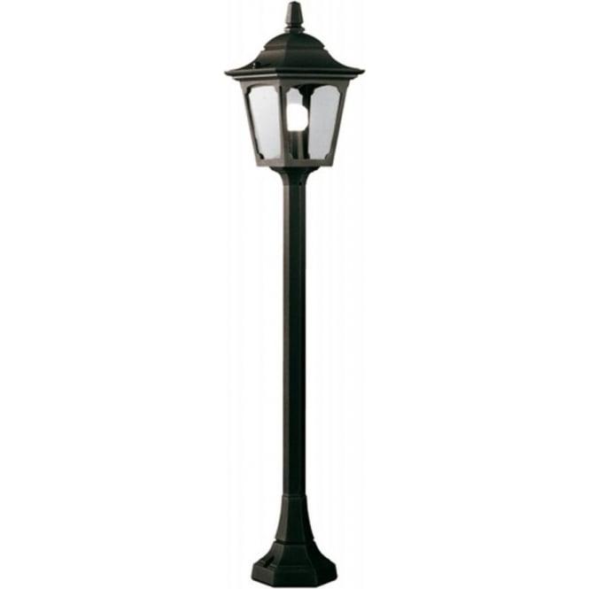 garden lamp post. CHAPEL Small Pillar Lantern Garden Lamp Post In Black Aluminiium