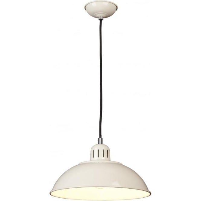 Chester Collection FRANKLIN retro style cream ceiling pendant light