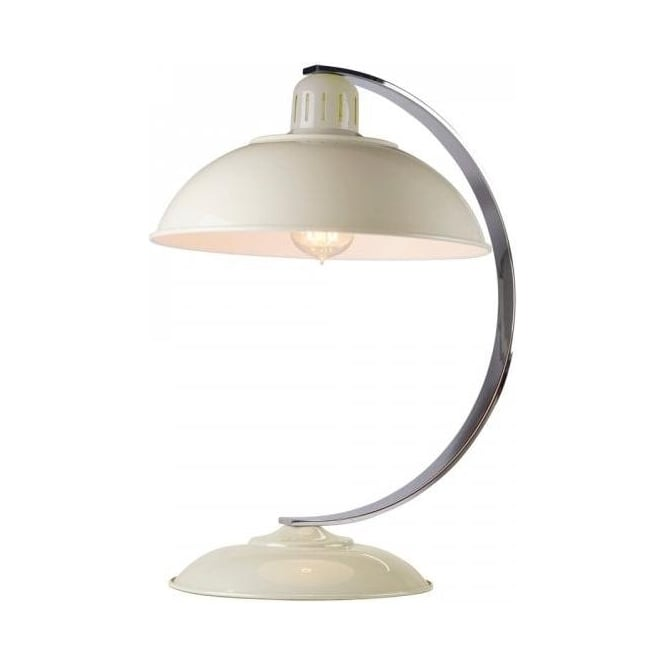 Chester Collection FRANKLIN retro style cream desk lamp or sudy light