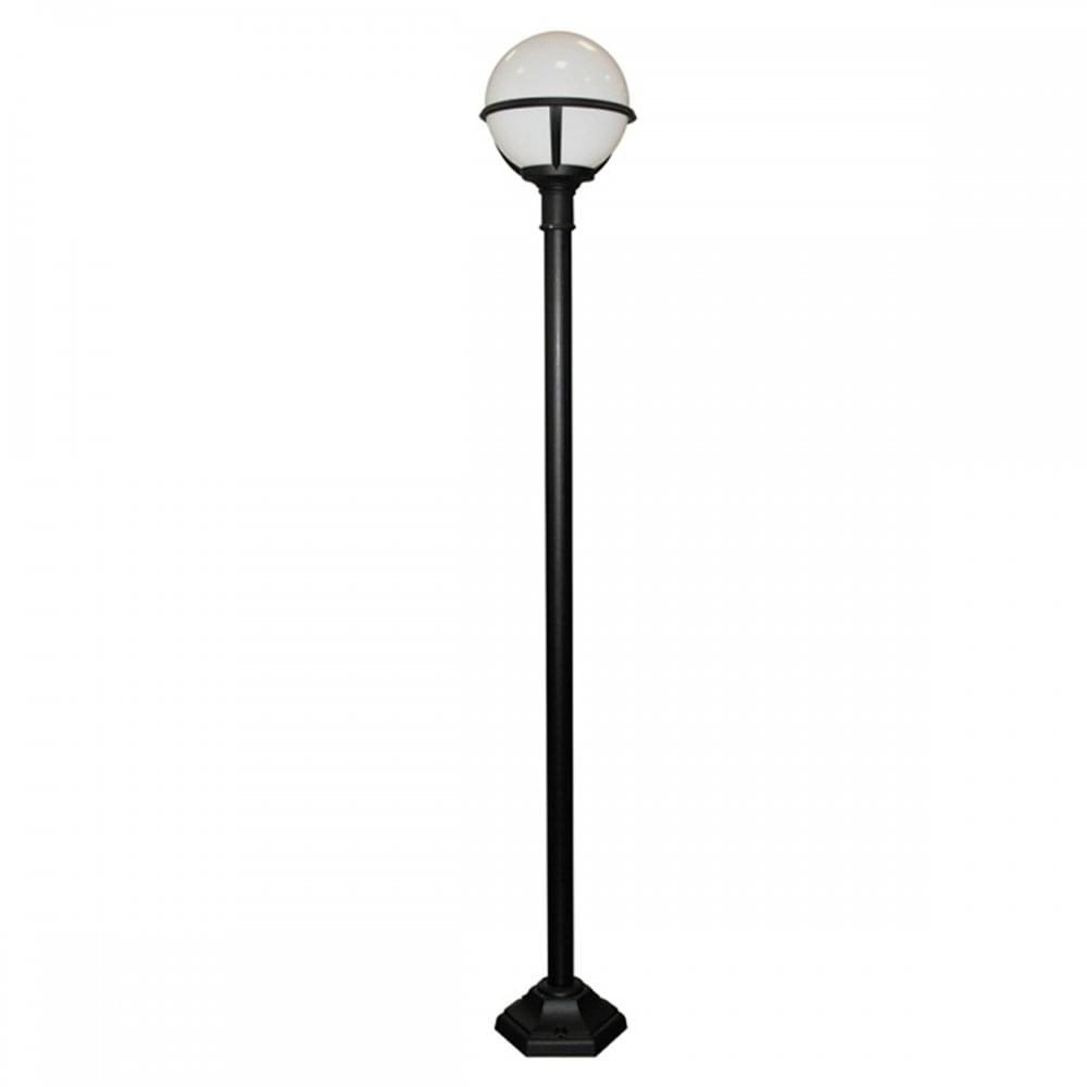 Robust Exterior Lamp Post Light for Exposed Coastal Locations
