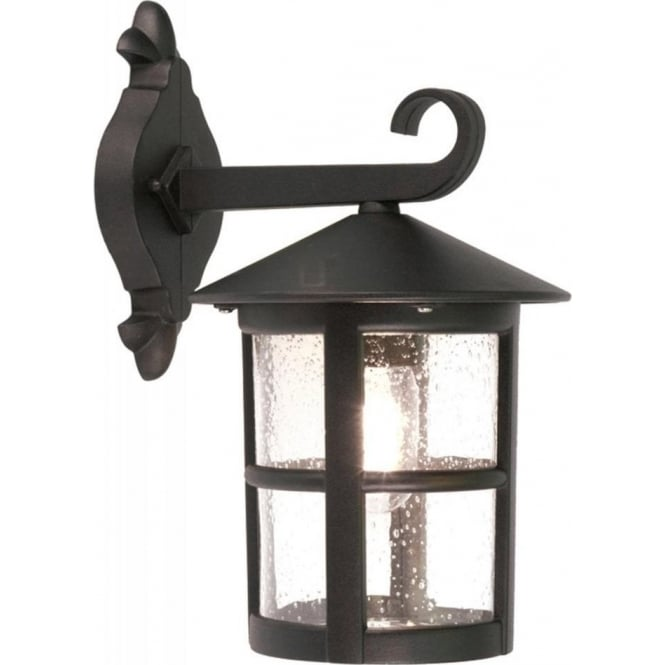 Chester Collection HEREFORD traditional black outdoor wall lantern