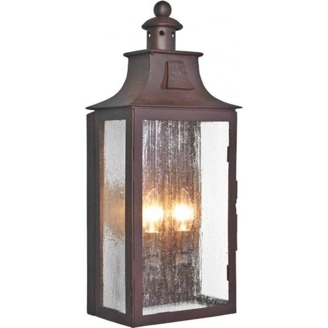 Chester Collection KENDAL wrought iron outdoor wall lantern