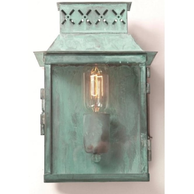 Chester Collection LAMBETH PALACE traditional verdigris exterior wall light