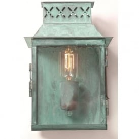 LAMBETH PALACE traditional verdigris exterior wall light