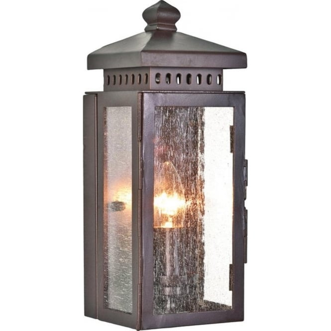 Chester Collection MATLOCK traditional wrought iron garden wall light